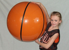 "36"" SPORTS Basketball Beach Ball"