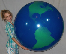 "36"" Earth Globe Balloon - Latex"