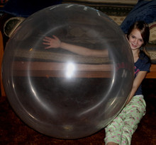"36"" Crystal Clear BUBBLE Balloon - Latex"