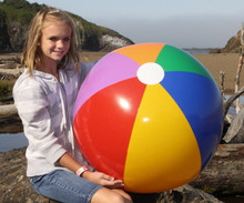 "36"" 7 Color Beach Ball"