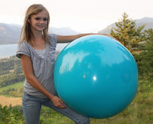 "36"" 1 Color Teal Beach Ball"