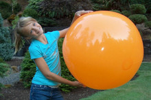 "36"" 1 Color Orange Beach Ball"