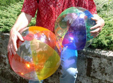"16"" & 24"" TWO-PACK Transparent Beach Balls"