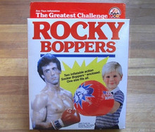 Rocky Boppers - Inflatable Boxing Gloves - Vintage 1983 - MINT!