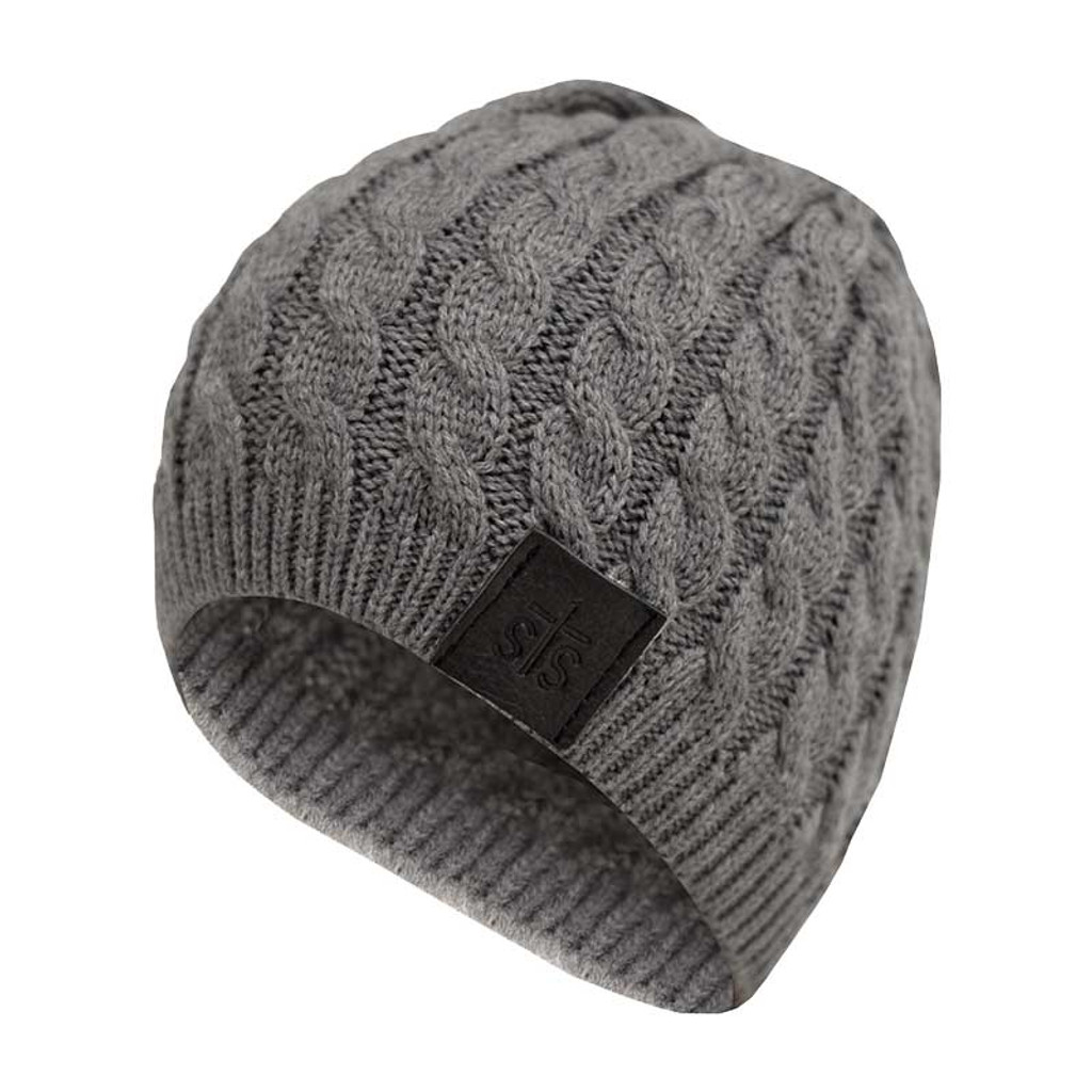 Women's STS Beanie, Charcoal