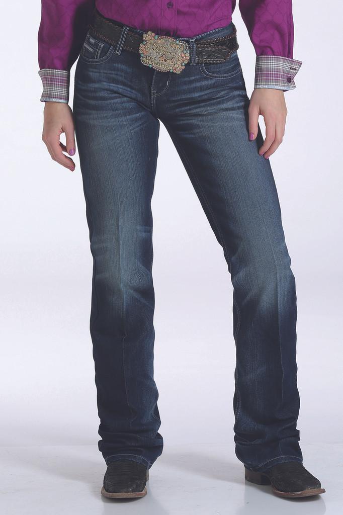 "Women's Cinch Jeans, ""ADA"", Dark Wash"