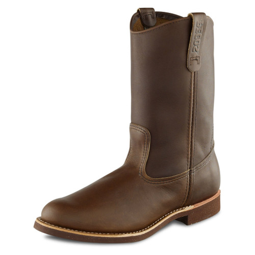 Men's Red Wing Boot, 11 Inch Pull-on, Dark Brown