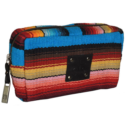 Women's STS Cosmetic Bag, Bebe Serape