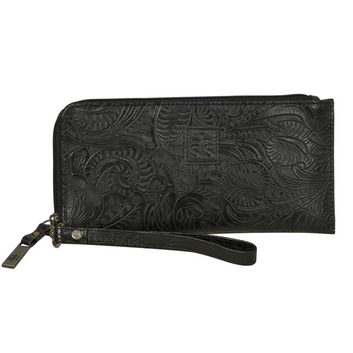 Women's STS Wristlet Clutch, Black