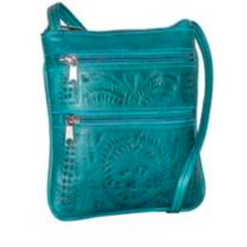 Ropin West Purse, Turquoise Crossbody