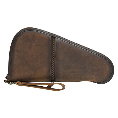 STS Pistol Case, Large, Leather