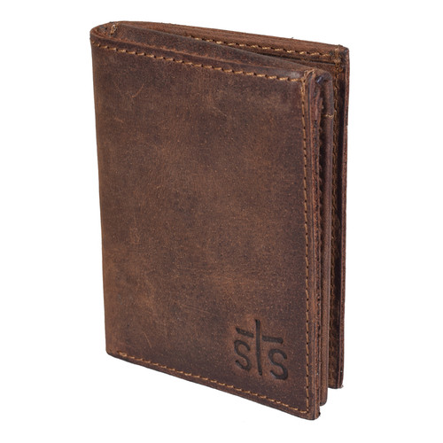 Men's STS Wallet, Tri-Fold, Foreman's