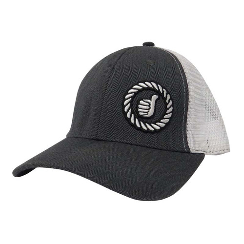 Men's Dally Up Cap, Gray/ White, Fitted