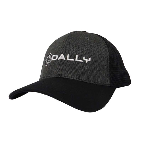 Men's Dally Up Cap, Black, Text Logo, Snapback