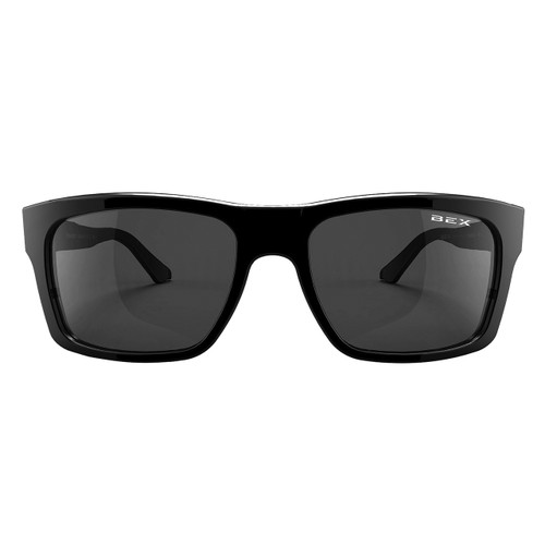 Bex Sunglasses, Black Frame, Gray Lens, Braddish