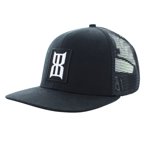 Men's Bex Cap, Ninyr, Black
