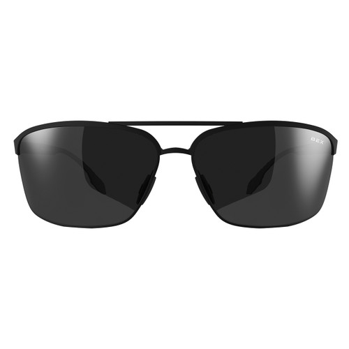 Bex Sunglasses, Black Frame, Gray Lens, Shuyk
