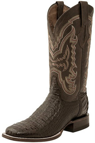 Men's Lucchese Boot Cigar Hornback Caiman