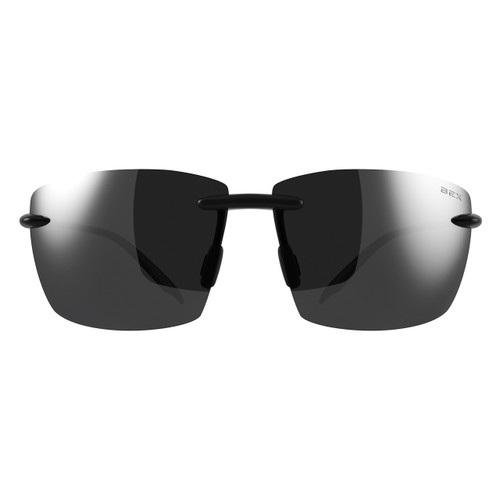 Bex Sunglasses, Landyn, Black Frame Gray Lens