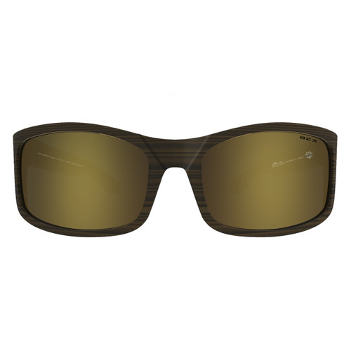 Bex Sunglasses, Tortoise Frame with Gold Lens, Ghavert II
