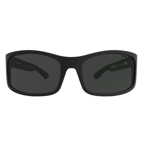 Bex Sunglasses, Black Frame with Gray Lens, Ghavert II