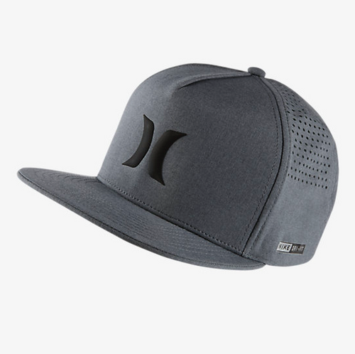 Men's Hurley Cap, Gray Mesh