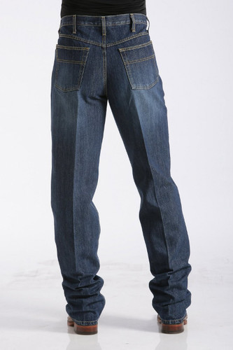 Men's Cinch Jeans, Black Label Dark Stone Sandblast