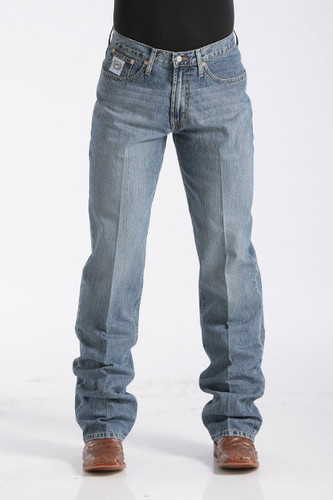 Men's Cinch Jeans, White Label Light Stone
