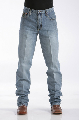 Men's Cinch Jeans, Black Label Medium Stone Sandblast