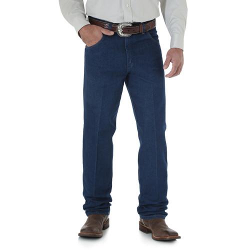 Men's Wrangler Jeans Cowboy Cut Relaxed Prewashed
