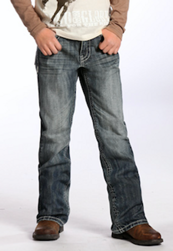 Boys Rock & Roll Jeans, Vintage Wash, Light Pocket
