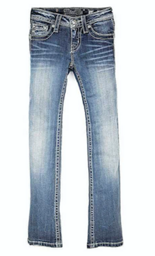 Girls Miss Me Jeans, Distressed Bling