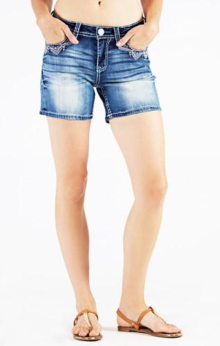 Women's Grace in LA Shorts, Aztec Pocket