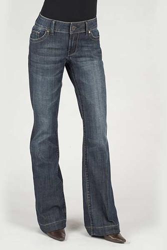 Women's Stetson Jean, Trouser Fit, S Pocket