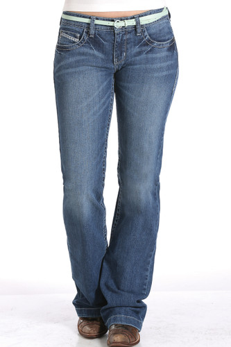"Women's Cruel Girl Jeans, ""Jayley"", Medium Wash"