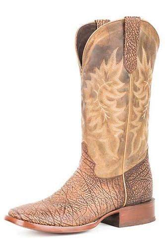 Men's Stetson Boot, Bullhide, Tan