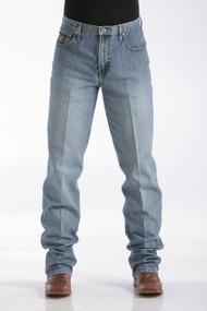 Men's Cinch Jeans, Black Label Medium Stone Sandblast