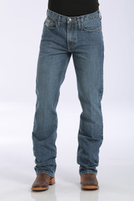 Men's Cinch Jeans, Silver Label, Medium Stonewash