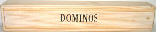 DOMINO 2/9 WOOD BOX CACIQUE