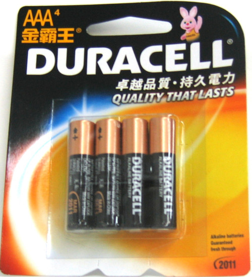 DURACELL AA X4