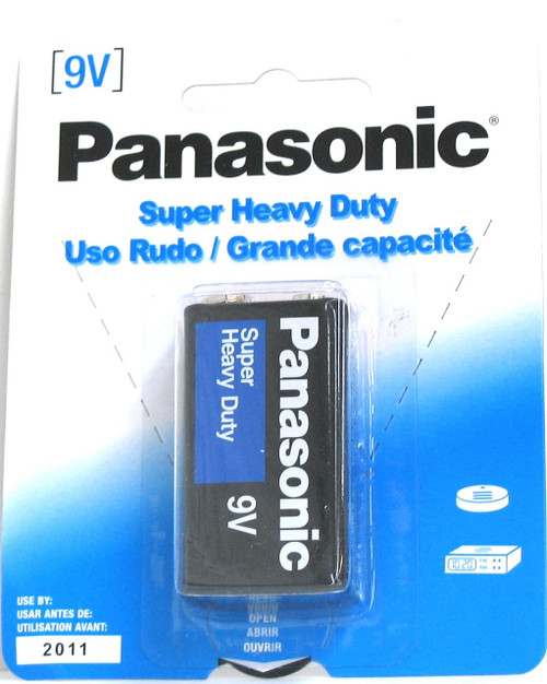 PANASONIC ''9V'' BATTERY 1-PK
