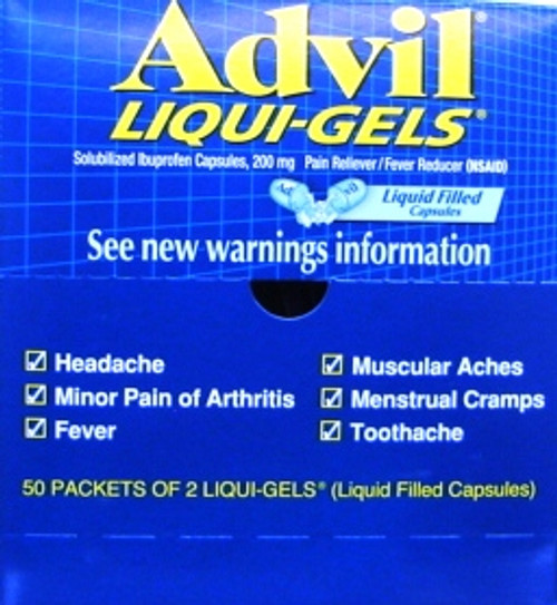ADVIL LIQUI-GELS BOX
