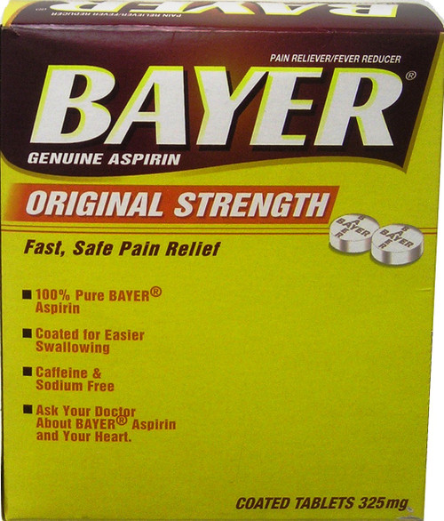BAYER ASPIRIN BOX