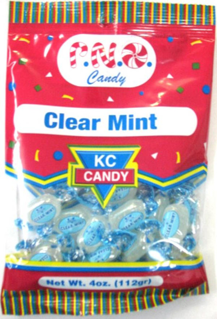 CANDY CLEAR MINT  4oz