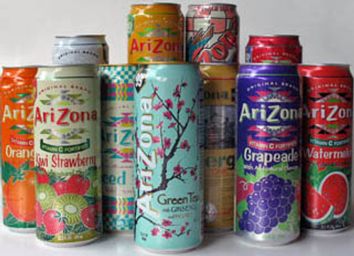 ARIZONA LEMON ICED TEA 24/24oz