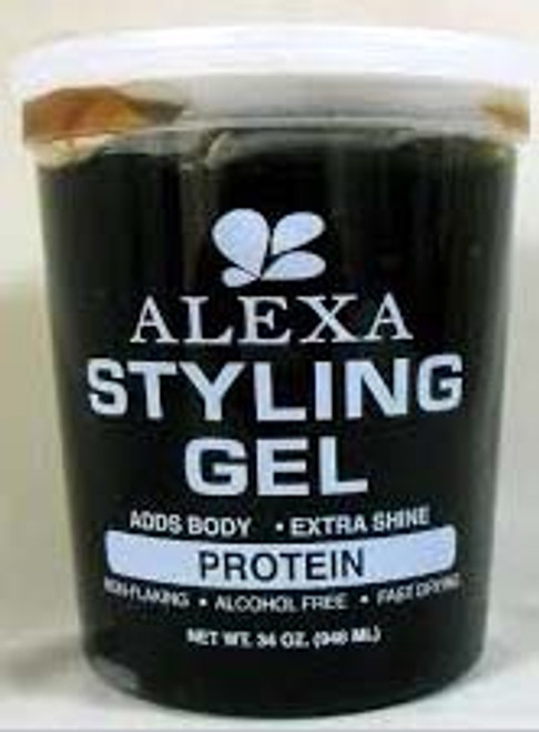 ALEXA STYLING GEL BLACK 34oz/12