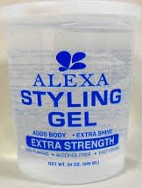 ALEXA STYLING GEL CLEAR34oz/12