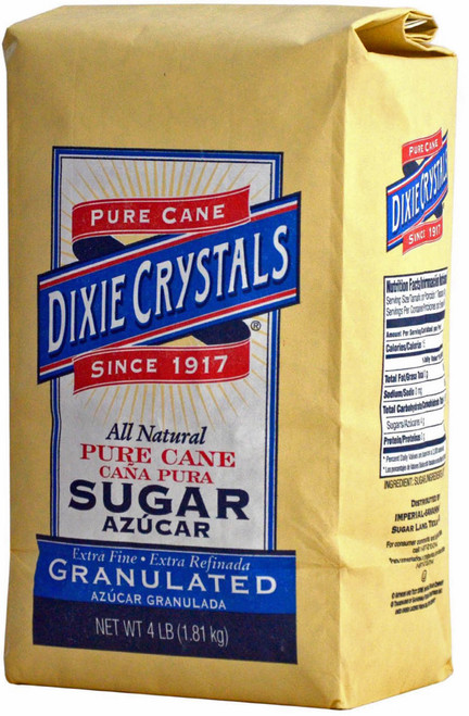 DIXIE CRYSTAL SUGAR 10/4LB