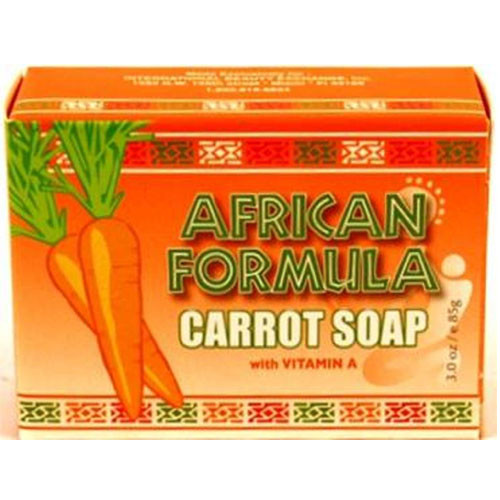 AFRICAN F. CARROT SOAP 85g/144