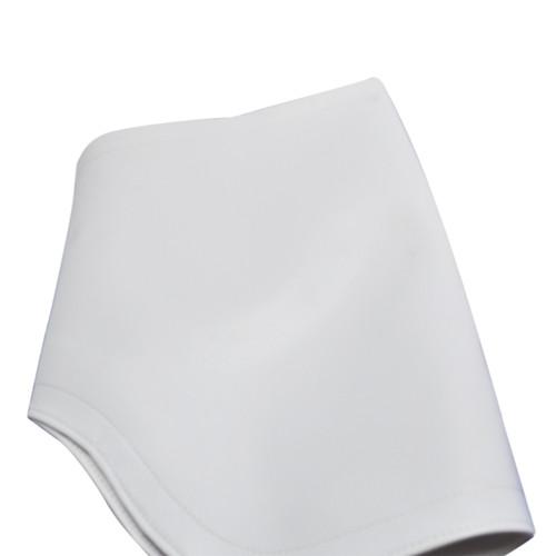 White Leatherette Leg-Rest Slipcovers
